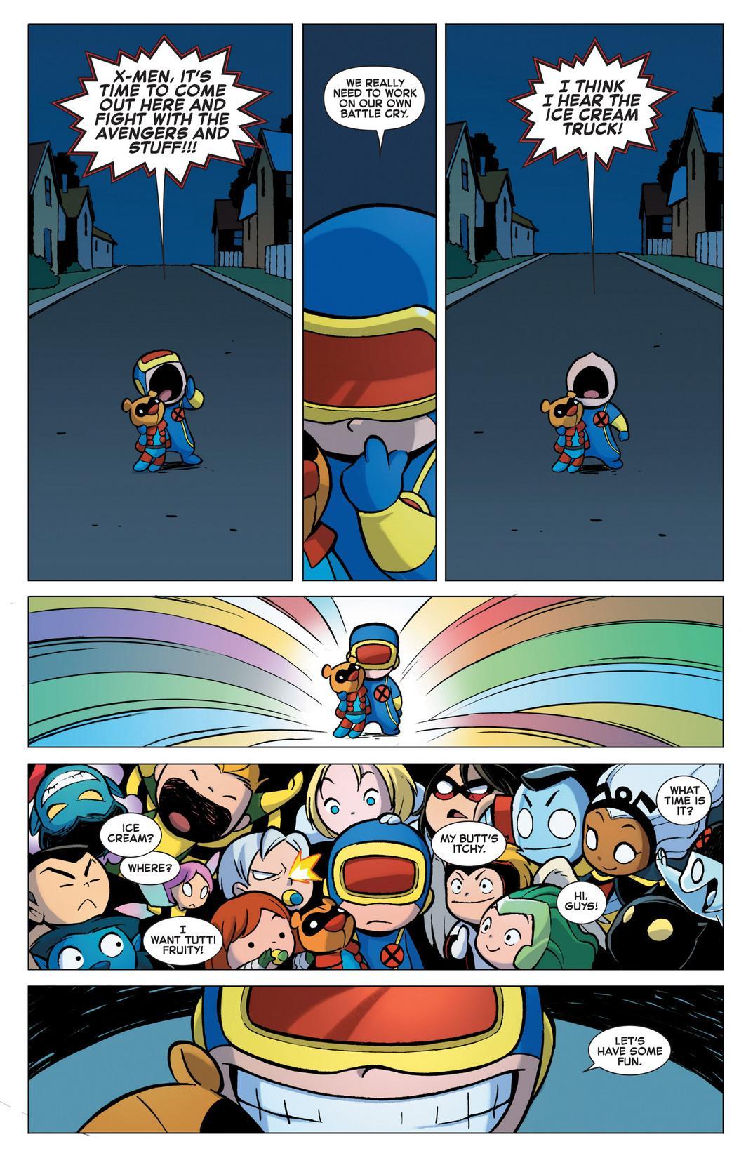 Review: A-Babies vs X-Babies (2012) – Never Mind The Comics
