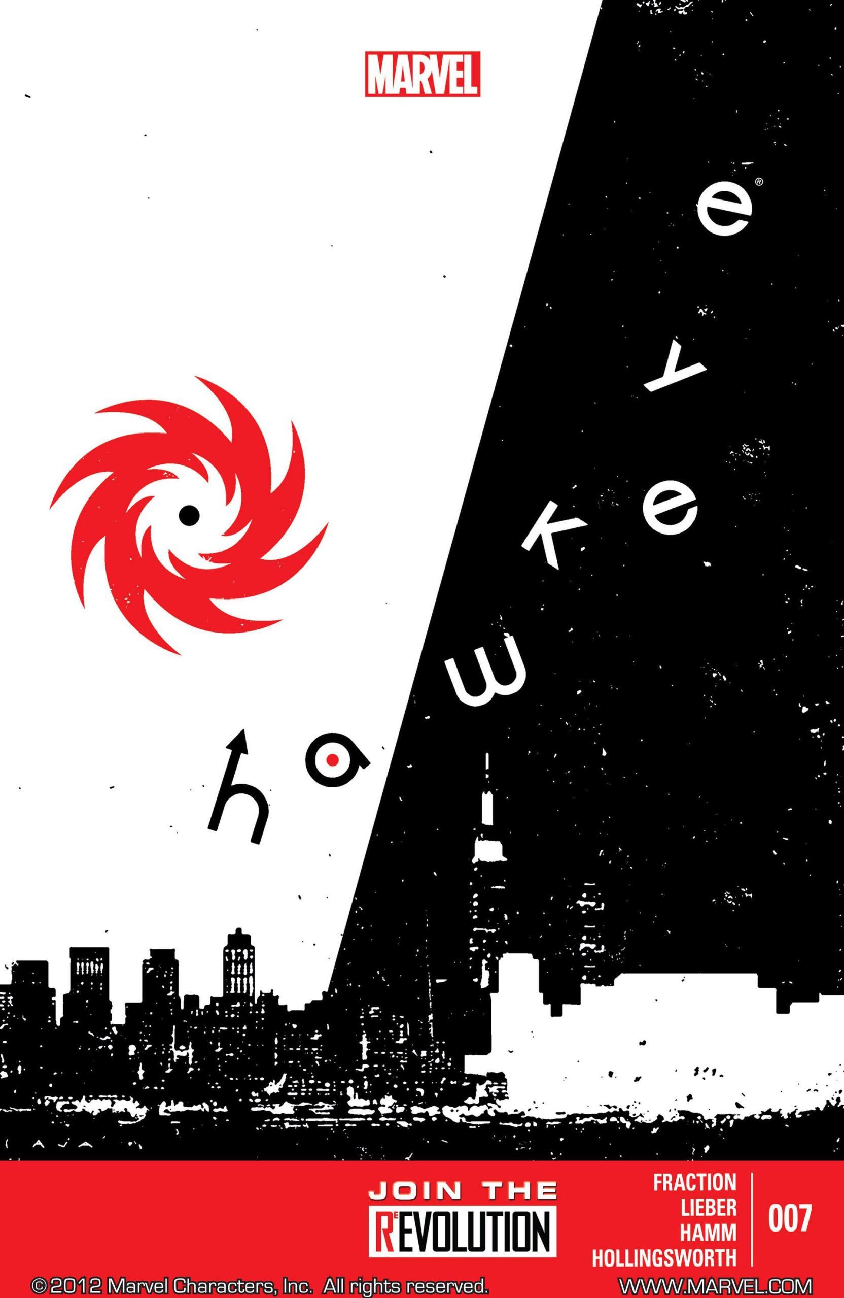Hawkeye #7 - Page 1